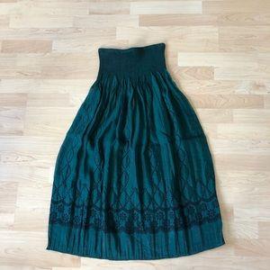 NEW Anthropologie Lapis Strapless Dress